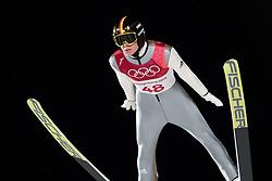 February 17, 2018 - Pyeongchang, SOUTH KOREA - 180217 Andreas Wellinof of Germany in the men's large hill individual final during day eight of the 2018 Winter Olympics on February 17, 2018 in Pyeongchang..Photo: Carl Sandin / BILDBYRÃ…N / kod CS / 57999_303 (Credit Image: © Carl Sandin/Bildbyran via ZUMA Press)