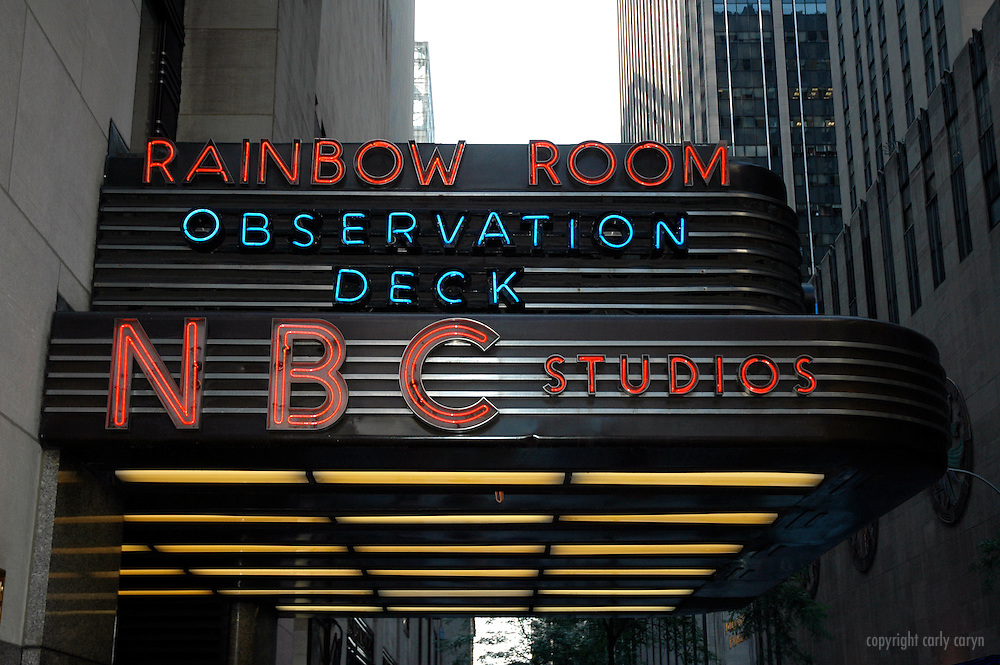 NBC Studios/Rainbow Room