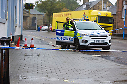 Pictured: Police respond to reports of  serious assault<br /> <br /> Police in Midlothian are investigating a serious assault on a 36-year-old man in Penicuik. The incident happened around 2am on Monday 3rd September in the High Street area of the town. The victim was taken to Edinburgh Royal Infirmary with serious head injuries.  Police are following a positive line of enquiry.<br /> <br /> <br /> <br /> Ger Harley | EEm 3 September 2018