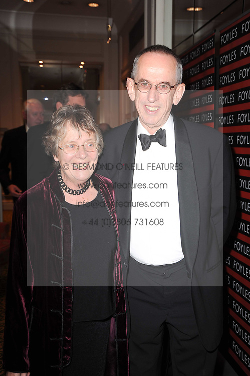 LORD & LADY WILSON of Dinton at a gala dinner in celebration of 80 years since the first Foyles Literary Luncheon, held in The Ball Room, Grosvenor House Hotel, Park Lane, London on 21st October 2010.
