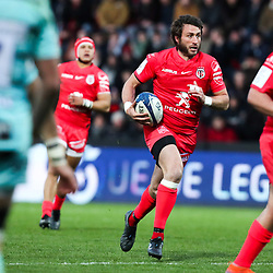 Maxime MEDARD of Toulouse during the European Rugby Champions Cup, Pool 5 match between Toulouse and Gloucester on January 19, 2020 in Toulouse, France. (Photo by Manuel Blondeau/Icon Sport) - Stade Ernest-Wallon - Toulouse (France)