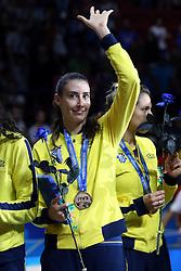SHEILLA CASTRO DE PAULA BLASSIOLI <br /> AWARDING CEREMONY<br /> VOLLEYBALL WOMEN'S WORLD CHAMPIONSHIP 2014<br /> MILAN 12-10-2014<br /> PHOTO BY FILIPPO RUBIN