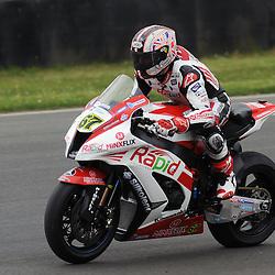 British Superbikes, Knockhill, 14-06-2013<br /> <br /> Rapid Solicitors,  Shane (Shakey) Byrne, 67<br /> <br /> (c) David Wardle | StockPix.eu
