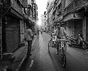 Bicycle Rickshaw - Chennai, India