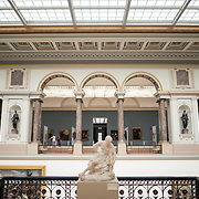 at the Royal Museums of Fine Arts in Belgium (in French, Musées royaux des Beaux-Arts de Belgique), one of the most famous museums in Belgium. The complex consists of several museums, including Ancient Art Museum (XV - XVII century), the Modern Art Museum (XIX  XX century), the Wiertz Museum, the Meunier Museum and the Museé Magritte Museum.