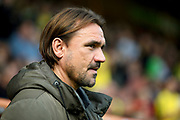 Norwich City Manager Daniel Farke  during the EFL Sky Bet Championship match between Norwich City and Bristol City at Carrow Road, Norwich, England on 23 September 2017. Photo by Simon Davies.