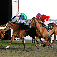 Golden Causeway and William Carson winning the 6.35 race