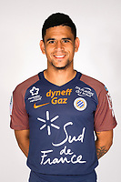 Keagan Dolly during photoshooting of Montpellier Herault  for new season 2017/2018 on September 3, 2017 in Montpellier<br /> Photo : Mhsc / Icon Sport