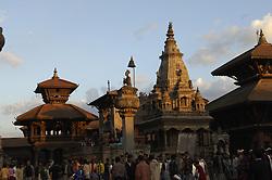 BHAKTAPUR, NEPAL - NOV-04-2006 - Ancient city of Bhaktapur, Nepal.