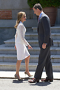 060914 Spanish Royals Meet President of United States of Mexico at Zarzuela Palace