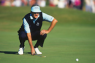 Bob Charles <br /> Seniors Open 1994 <br /> Picture Credit:  Mark Newcombe / www.visionsingolf.com