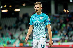 Roman Bezjak of Slovenia after the football match between National Teams of Slovenia and Scotland of Fifa 2018 World Cup European qualifiers, on October 8, 2017 in SRC Stozice, Ljubljana, Slovenia. Photo by Vid Ponikvar / Sportida