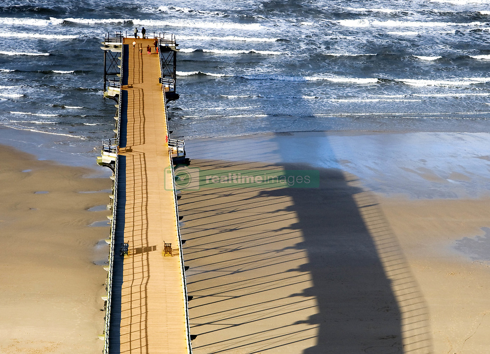 July 21, 2019 - Pier, Saltburn, North Yorkshire, England (Credit Image: © John Short/Design Pics via ZUMA Wire)