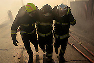 Incendio en Valpairaiso Chile