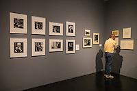 At the Kubrick exhibit