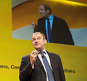 Liberal Democrats<br /> Autumn Conference 2011 <br /> at the ICC, Birmingham, Great Britain <br /> <br /> 17th to 21st September 2011 <br /> <br /> Edward Davey MP<br /> Minister for Employment Relations, Consumer and Postal Affairs<br /> <br /> Photograph by Elliott Franks
