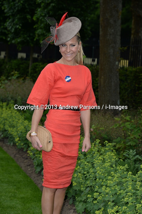 Royal Ascot 2013<br /> Name Correction - Emma Spencer during<br /> Ascot, United Kingdom<br /> Tuesday, 18th June 2013<br /> Picture by Andrew Parsons / i-Images