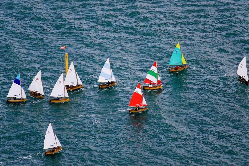 The 75th Anniversary of the Seaview One Design Dinghy, Seaview Yacht Club..Fleet Race, 198 boats in total.