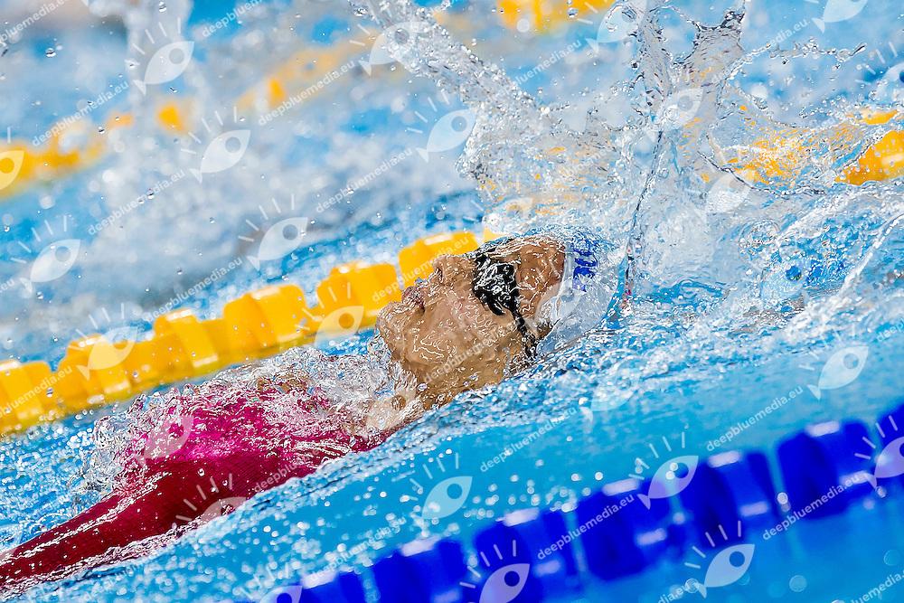 TRNKOVA Michaela CZE<br /> 100 Backstroke Women Heats Swimming<br /> 1st European Olympic Games <br /> Baku Azerbaijan 12-28/06/2015<br /> Photo Andrea Masini/Deepbluemedia/Insidefoto