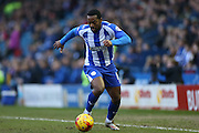 Jacques Maghoma, Sheffield Wednesday midfielder during the Sky Bet Championship match between Sheffield Wednesday and Brighton and Hove Albion at Hillsborough, Sheffield, England on 14 February 2015.