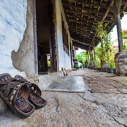 CAPTION: This is Wonosari's flood shelter. When a 'red warning' is issued, all households must evacuate to this shelter, which is on higher ground. LOCATION: Wonosari, Semarang, Indonesia. INDIVIDUAL(S) PHOTOGRAPHED: N/A.