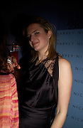 Fiona Scarry.  Zac Posen Spring/ Summer collection launch party. The Blue Bar, Berkeley Hotel. London. 7 March 2004. Dafydd Jones,  ONE TIME USE ONLY - DO NOT ARCHIVE  © Copyright Photograph by Dafydd Jones 66 Stockwell Park Rd. London SW9 0DA Tel 020 7733 0108 www.dafjones.com