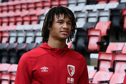 Nathan Ake (5) of AFC Bournemouth arrives ahead of the Premier League match between Bournemouth and Wolverhampton Wanderers at the Vitality Stadium, Bournemouth, England on 23 November 2019.