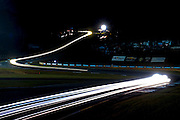 Long exposure racing action , Petit Le Mans. Oct 18-20, 2012. © Jamey Price