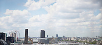 Panoramic shot of cityscape in London, England, UK