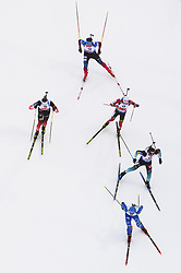 March 16, 2019 - –Stersund, Sweden - 190316 Athletes compete in the Men's 4x7,5 km Relay during the IBU World Championships Biathlon on March 16, 2019 in Östersund..Photo: Petter Arvidson / BILDBYRÃ…N / kod PA / 92269 (Credit Image: © Petter Arvidson/Bildbyran via ZUMA Press)