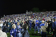 AFC Wimbledon make the final, fans invade the pitch after the Sky Bet League 2 play-off 2nd leg match between Accrington Stanley and AFC Wimbledon at the Fraser Eagle Stadium, Accrington, England on 18 May 2016. Photo by Stuart Butcher.