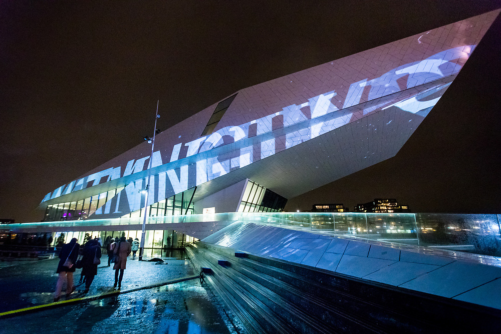 The very first World Masters of Projection Mapping is an international competition for professional video artists. It is an initiative of Amsterdam Light Festival, together with partners events organizer ISE (Integrated Systems Europe) and RAI Amsterdam. The projections are accompanied by audio that can be heard on the spot via radio frequency FM 88.4. On February 8 and 9, audiosets will also be available at the docks of Amsterdam Central Station, and EYE Filmmuseum.