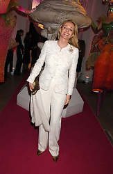 MRS ALFRED TAUBMANN at a 'A Night in Cartier Paradise' to celebrate a new collection of jewellery by Cartier, held at The orangery, Kensington Palace, London W8 on 25th October 2005.<br />