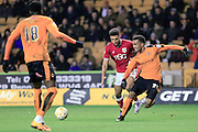 Nathan Byrne during the Sky Bet Championship match between Wolverhampton Wanderers and Bristol City at Molineux, Wolverhampton, England on 8 March 2016. Photo by Daniel Youngs.