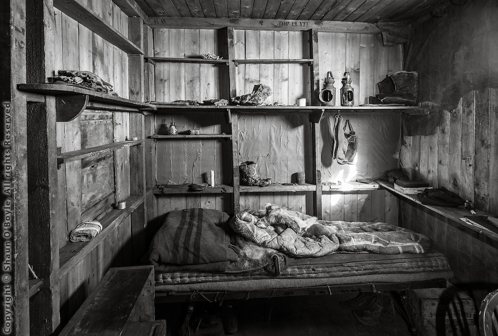 Captain R.F. Scott's sleeping area.