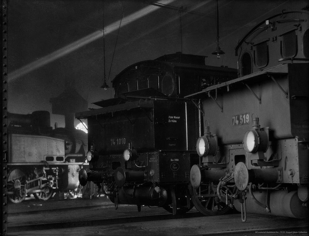 Locomotives at Anhalter Bahnhof, Berlin, 1925