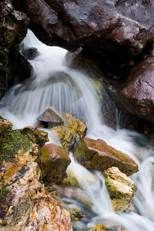 Falls above Coille na Glas leitre, Beinn Eighe NNR,Scotland