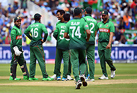 Cricket - 2019 ICC Cricket World Cup - Group Stage: Bangladesh vs. India<br /> <br /> Bangladesh celebrate after Mustafizur Rahman dismisses India's Hardik Pandya caught by Soumya Sarkar for 0, at Edgbaston<br /> <br /> COLORSPORT/ASHLEY WESTERN