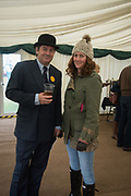 CHARLIE BROOKS; REBECCA BROOKS, Heythrop Point to Point, Cocklebarrow, 2 April 2017.