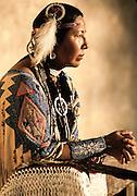 Sioux indian woman, Santa Fe, NM