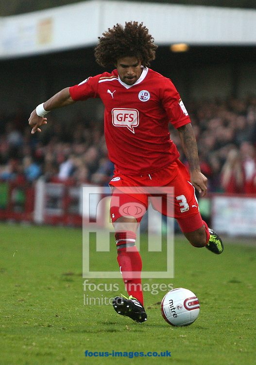 Picture by Paul Terry/Focus Images Ltd. 07545642257.19/11/11.Dean Howell of Crawley during the Npower League 2 match at Broadwood stadium, Crawley, West Sussex.