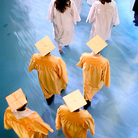 (COMMUNITY) Lincroft 6/4/2004  Overall of the St. John Vianney High School graduation held at Brookdale Community College.  Michael J. Treola Staff Photographer.....MJT