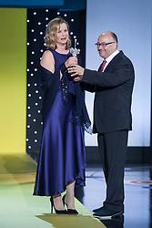 25.09.2015, Madrid, San Sebastian, ESP, San Sebastian International Film Festival, im Bild British actress Emily Watson receives the 2015 Donostia Award during the official ceremony // at 63rd Donostia Zinemaldia, San Sebastian International Film Festival in Madrid in San Sebastian, Spain on 2015/09/25. EXPA Pictures © 2015, PhotoCredit: EXPA/ Alterphotos/ Victor Blanco<br /> <br /> *****ATTENTION - OUT of ESP, SUI*****