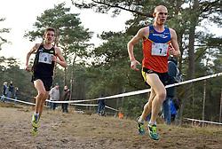 31-12-2014 NED: Rabobank Sylvestercross, Soest<br /> Ronald Schroer (8) en Gert-Jan Wassink