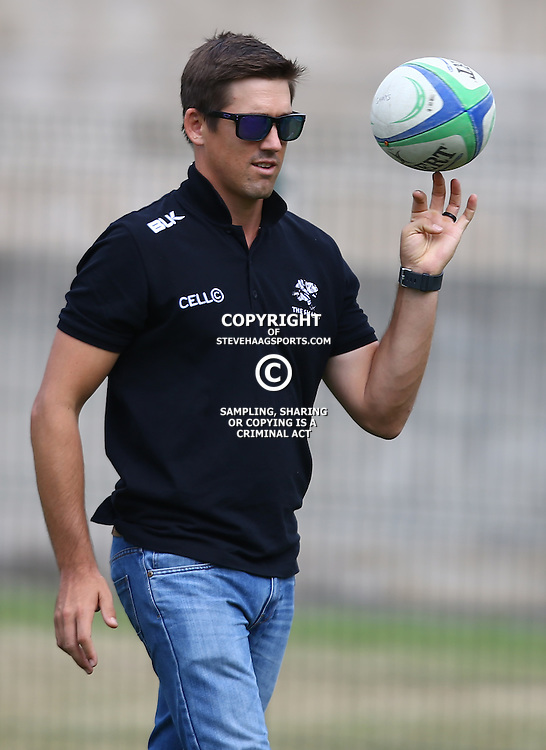 DURBAN, SOUTH AFRICA - APRIL 23: AB Zondagh during the Provincial Cup match between Cell C Sharks XV and Windhoek Draught Welwitschias at King Zwelithini Stadium on April 23, 2016 in Durban, South Africa. (Photo by Steve Haag/Gallo Images)