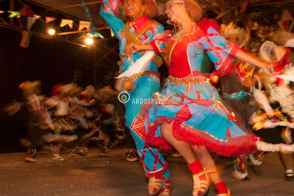 June Festival, popular festival, celebrated on key days following the Catholic feast days of Saint Anthony, John the Apostle and Saint Peter. / Festa de Sao Joao em Caruaru.