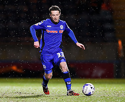 Rochdale's Thomas Kennedy - Photo mandatory by-line: Matt McNulty/JMP - Mobile: 07966 386802 - 03/03/2015 - SPORT - football - Rochdale - Spotland Stadium - Rochdale v Crewe Alexandra - Sky Bet League One