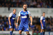 Ipswich Town defender Luke Chambers (4) during the EFL Sky Bet Championship match between Ipswich Town and Brighton and Hove Albion at Portman Road, Ipswich, England on 27 September 2016.