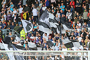 Derby County fans during the EFL Sky Bet Championship match between Derby County and Swansea City at the Pride Park, Derby, England on 10 August 2019.