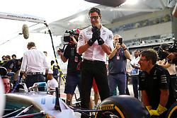 November 23, 2017 - Abu Dhabi, United Arab Emirates - Motorsports: FIA Formula One World Championship 2017, Grand Prix of Abu Dhabi, .Toto Wolff (AUT, Mercedes AMG Petronas Formula One Team) (Credit Image: © Hoch Zwei via ZUMA Wire)